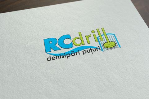 Logo Design RC Drill