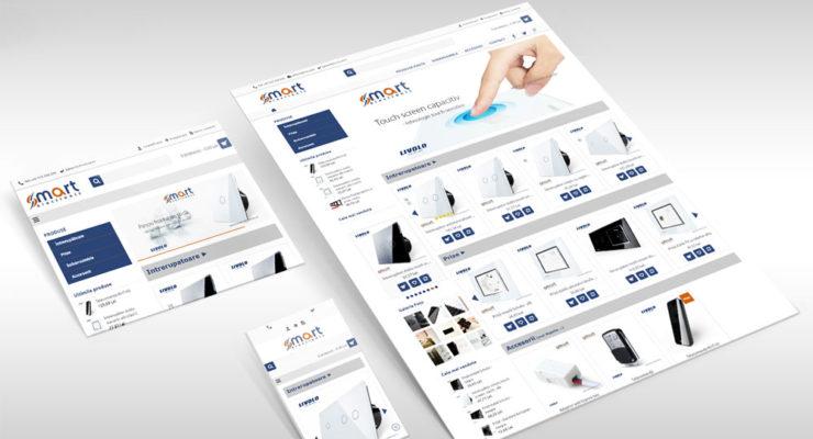 Web Design Smart Electronic